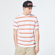 Six Stripes Short Sleeve  Tee