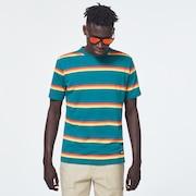 Four Stripes Short Sleeve Tee