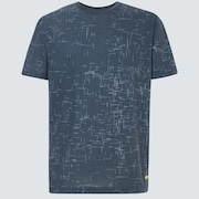 Geometric Street Short Sleeve Tee - Uniform Gray
