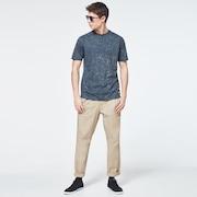 Geometric Street Short Sleeve Tee - Uniform Gray