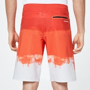 Color Block Shade Boardshort 21 - High Risk Red