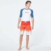 Color Block Shade Boardshort 21 - High Risk Red