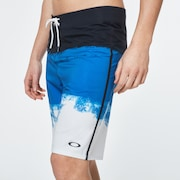 Color Block Shade Boardshort 21 - Uniform Blue