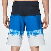 Color Block Shade Boardshort 21 - Uniform Blue