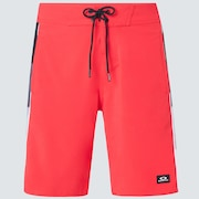 Block Grad Boardshort 20 - High Risk Red
