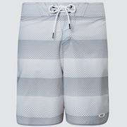 Dot Stripes Boardshort 19 - Dot Stripes Gray