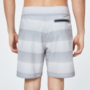 Dot Stripes Boardshort 19 - Dot Stripes Gray