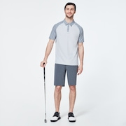 Traditional Golf Polo - Fog Gray