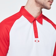 Traditional Golf Polo - High Risk Red