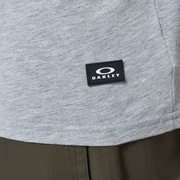 Oakley Patch Short Sleeve Tee - New Granite Heather