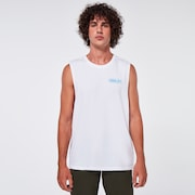 Oakley Digit Tank Top - White