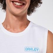 Oakley Digit Tank Top - White