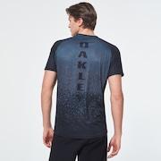 MTB Short Sleeve Tech Tee - Gray Pixel Print
