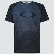 MTB Short Sleeve Tech Tee - Gray Pixel Print