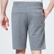 Reverse Fleece Short - New Granite Heather