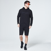 Reverse Fleece Short - Blackout