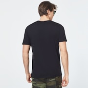USA Flag Ellipse Short Sleeve Tee - Blackout