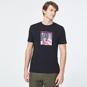 USA Flag Picture Short Sleeve Tee