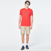 Dots Oakley Ellipse Short Sleeve Tee - High Risk Red