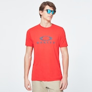 Dots Oakley Ellipse Short Sleeve Tee - High Risk Red