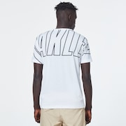 Enhance QD Short Sleeve Tee Bold 10.0 - White