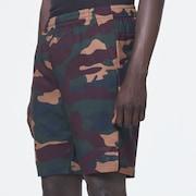 Enhance Graphic Shorts 10.0 - Green Print