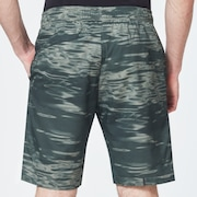 Enhance Mobility Shorts - Green Print