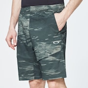 Enhance Mobility Shorts - Green Print