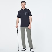 Golf Pocket Polo - Blackout