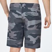 Hybrid Camo Short 19 - Gray Camouflage