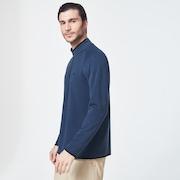 Range Pullover 2.0 - Dark Blue Heather
