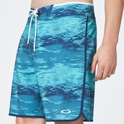 Water Boardshort 19 - Blue Water Print
