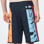 1975 Seamless Boardshort 21 - Graffiti Black Print