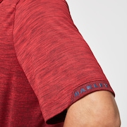 Gradient Gravity Polo 2.0 - Violet Red Heather