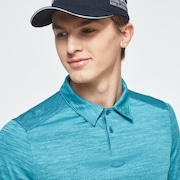 Gradient Gravity Polo 2.0 - Wave Blue Heather