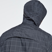 Reflective Tech Jacket - Blackout