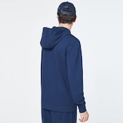 Patch Fleece Hoodie - Universal Blue