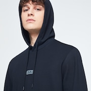 Patch Fleece Hoodie - Blackout