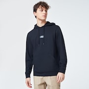Patch Fleece Hoodie