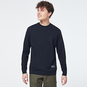 Patch Fleece Crewneck