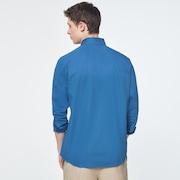 Workwear Patch LS Shirt - Interstellar Blue