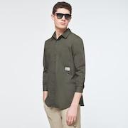 Workwear Patch LS Shirt - New Dark Brush