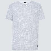 Iridium Grid Short Sleeve Tee - Black Grid Print