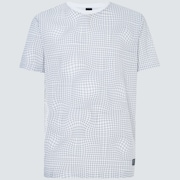 Iridium Grid Short Sleeve Tee - Black Grid Print