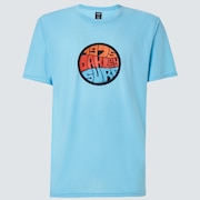 Graffiti 1975 Short Sleeve Tee - Aviator Blue