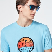 Graffiti 1975 Short Sleeve Tee - Aviator Blue