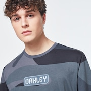 Oakley Digit Camo Short Sleeve Tee - Gray Camouflage
