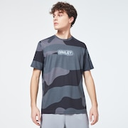 Oakley Digit Camo Short Sleeve Tee - Gray Camouflage