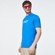 Cut B1B Logo Short Sleeve Tee - Uniform Blue