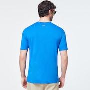Cut B1B Logo Short Sleeve Tee - Uniform Blue